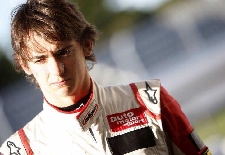 El mexicano Esteban Gutiérrez debutó en una práctica oficial de la Fórmula 1 con Ferrari. (autoronaldo.com)