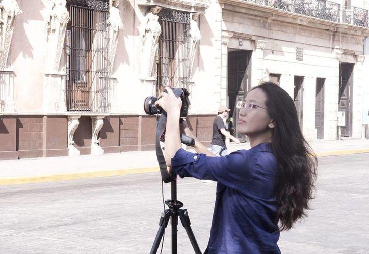 Ivy Feng recorrio Mérida, zonas arqueológicas y haciendas del Estado. (Milenio Novedades)
