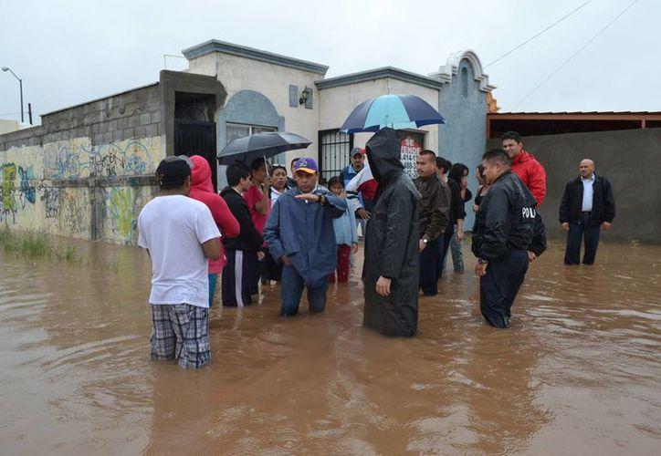 Prevén lluvias muy fuertes en la Península de Baja California. (Notimex)