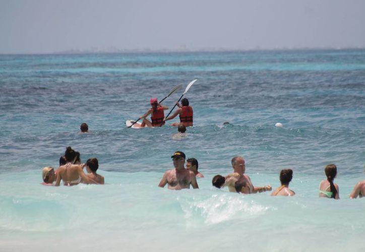 El 80% de turismo ruso que llega al país visita la Riviera Maya. (Israel Leal/SIPSE)