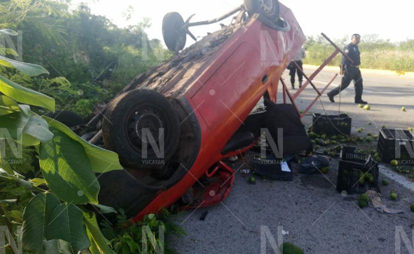 El incidente ocurrió en las primeras horas del día. (Novedades Yucatán)