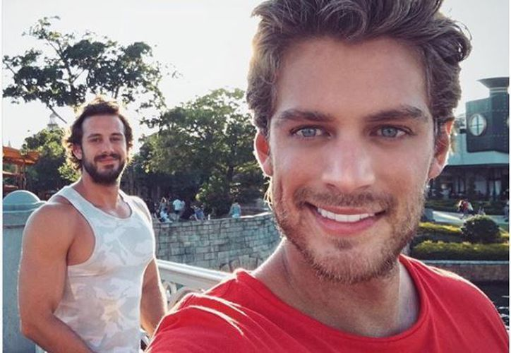 Pablo y Lambda descansaron un fin de semana en Playa del Carmen. (Foto: Instagram)