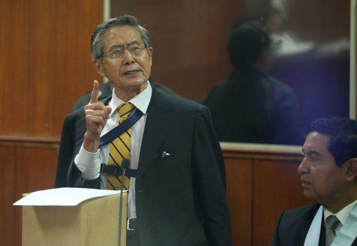 Alberto Fujimori purga una condena por delitos de lesa humanidad cometidos durante su mandato. (EFE)
