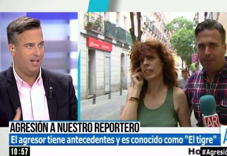 El periodista no resultó con lesiones, por suerte. (Foto: Internet)