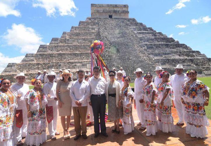Chichén Itzá es el atractivo más importante de Yucatán y a donde llegan miles de turistas que visitan Quintana Roo. (Notimex)