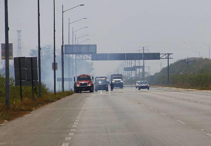 Muchos de los incendios que se generan cada temporada de sequía podrían evitarse. (Juan Albornoz/SIPSE)