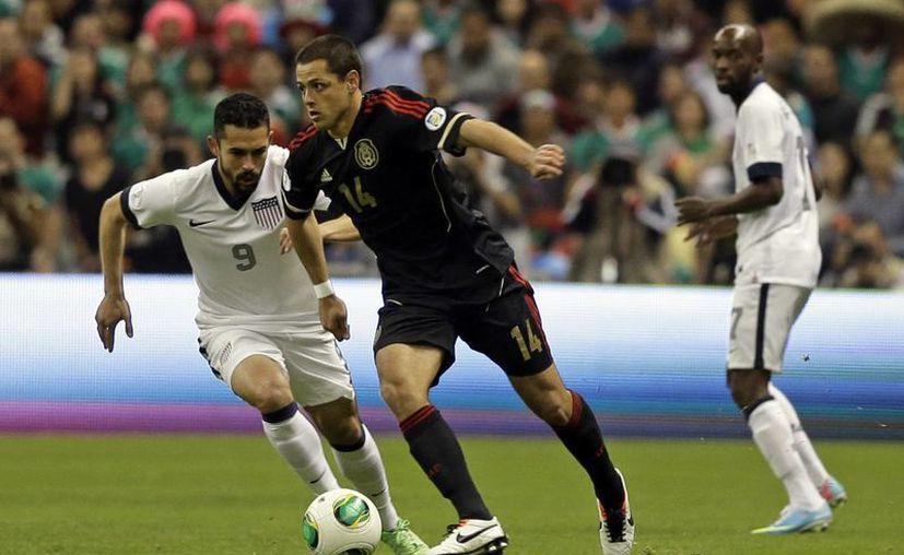 Tras el empate con EU, México es penúltimo entre los seis equipos que compiten por tres boletos directos al Mundial. (Agencias)