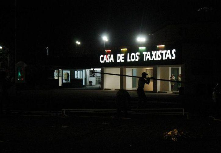 Trabajaban de forma normal en el sindicato personal de vigilancia y de su radiofrecuencia. (Jesús Tijerina/SIPSE)