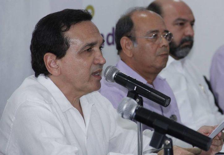 El dirigente empresarial mantiene su oposición a la iniciativa de reforma a la Ley del Seguro Social. (Juan Albornoz/SIPSE)
