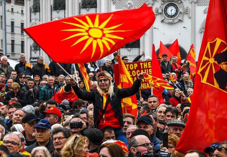 """Grecia se oponía al nombre """"Macedonia"""", por temor a reclamos independentistas. (AFP)"""