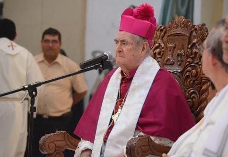 El cuerpo del obispo José Guadalupe Padilla Lozano será sepultado este martes en Veracruz. (diocesisdeveracruz.mx)