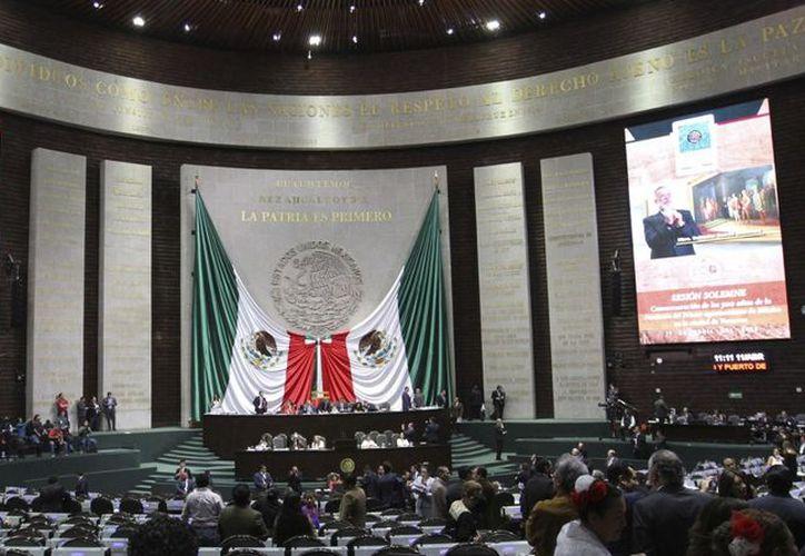 El Pleno de la Cámara de Diputados aprobó la Reforma Laboral.  (Notimex)
