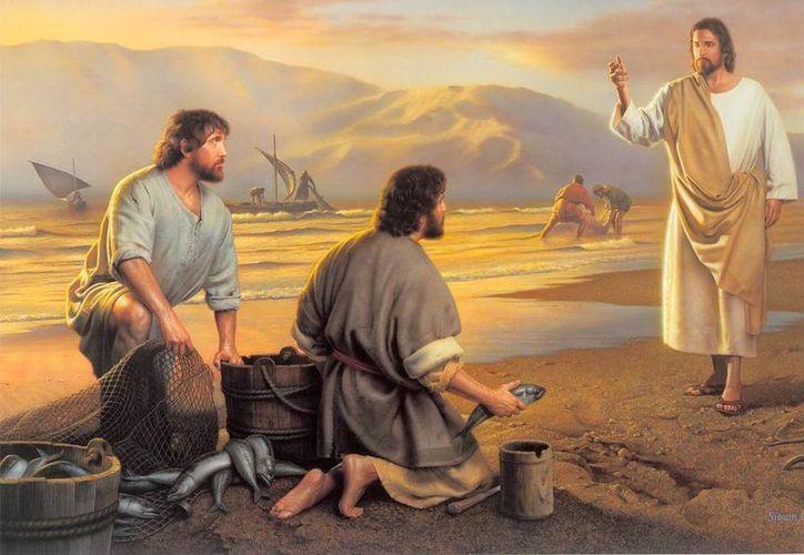 Jesús hizo comprender a sus apóstoles que la vida es como un viaje para seguirlo a Él. (facebooknice.net)
