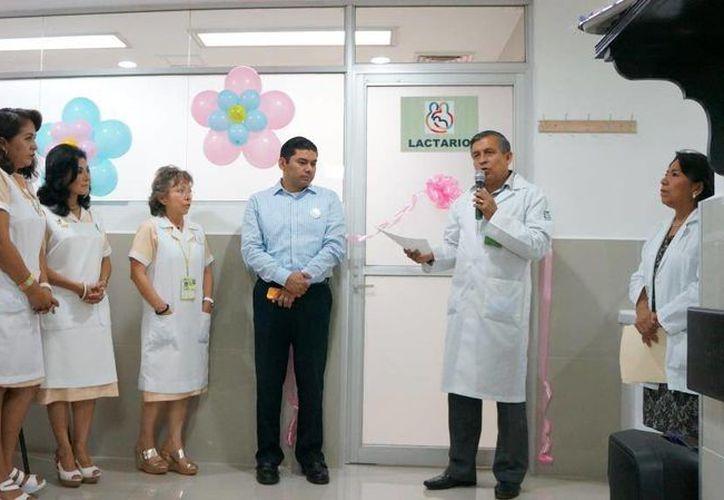 El lactario está abierto para uso de las derechohabientes y trabajadoras del IMSS. (Cortesía/ IMSS)