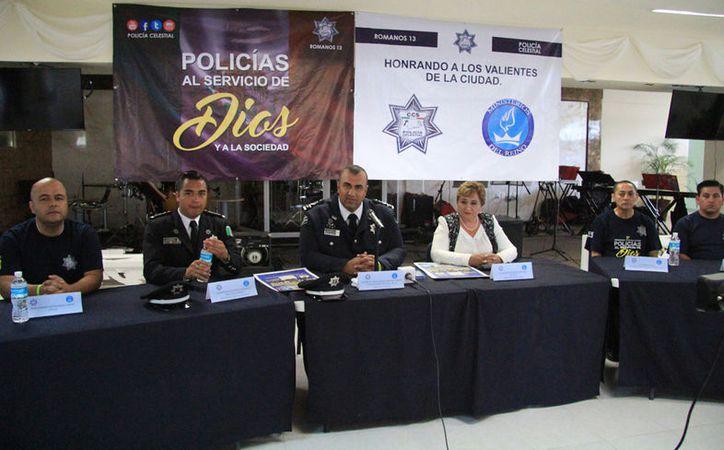 La Comisión Celestial de Seguridad se presentó en una conferencia de prensa. (Luis Soto/SIPSE)