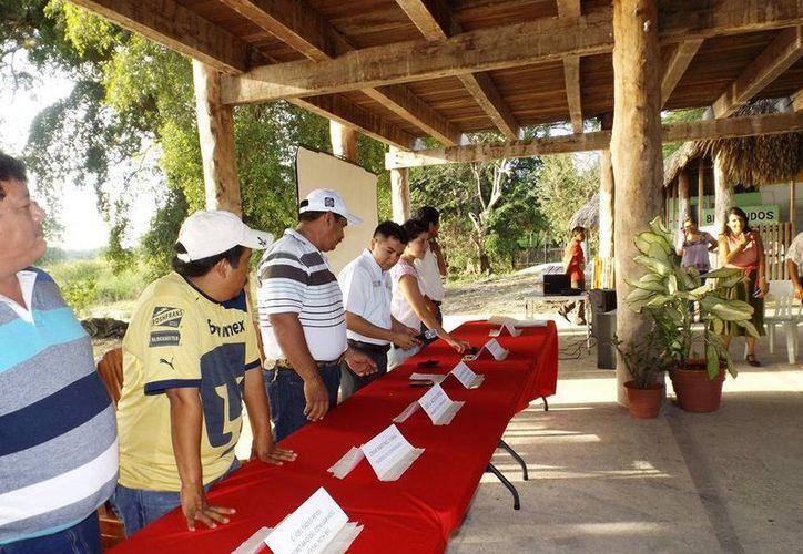 El año pasado se dio un curso a 31 promotores forestales. (Edgardo Rodríguez/SIPSE)