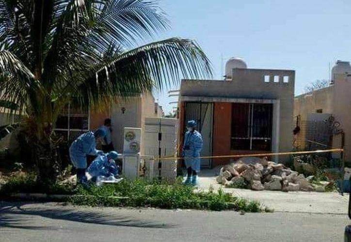 Vecinos del fraccionamiento Villas Jardín de Ciudad Caucel encontraron un cuerpo en avanzado estado de putrefacción. (SIPSE)