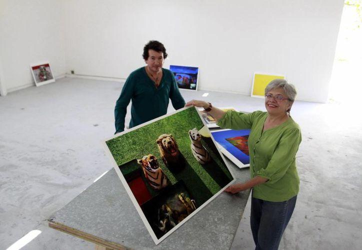 La fotógrafa Yolanda Andrade es egresada del Visual Studies Workshop en Rochester, de Nueva York, Estados Unidos. (SIPSE)