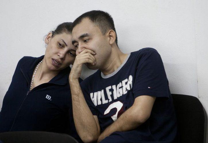 La detenida Raquel Alatorre Correa asiste a una audiencia en el Tribunal donde se le sigue el juicio. (EFE)