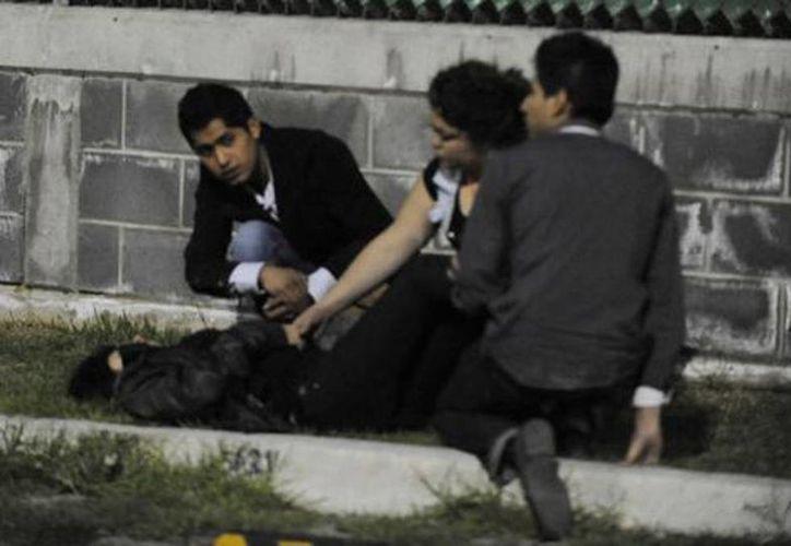 La madrugada del domingo se registró la estampida donde fallecieron tres personas. (Cuartoscuro)