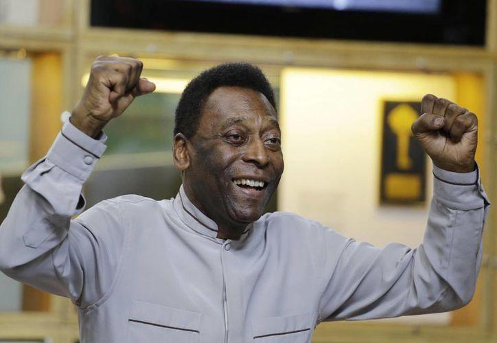 Pelé ha vivido sin un riñón desde los años sesenta. (Foto: AP)