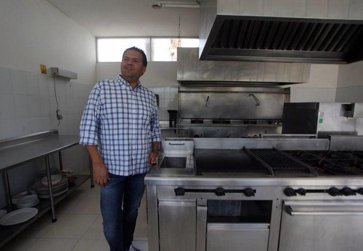 El Chef Luis Barocio ha trabajado en prestigiosos restaurantes de México, en Estados Unidos y Europa. (Amílcar Rodríguez/ Milenio Novedades)
