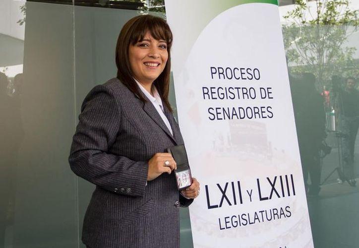 La legisladora Lisbeth Hernández. (sdpnoticias.com)