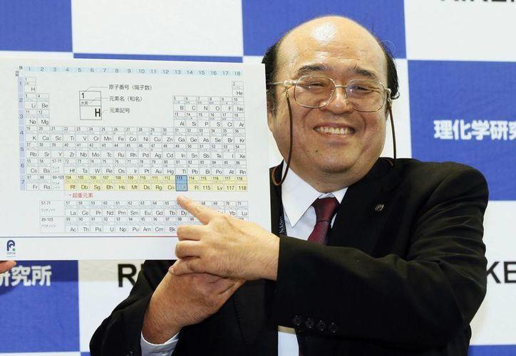 Un equipo de científicos japoneses del Instituto RIKEN han cumplido con los criterios que establece la Unión Internacional de Química Pura y Aplicada con sede en E.U., para el nombramiento de un nuevo elemento atómico, el 113, el cual crearon en 2004. (AP)