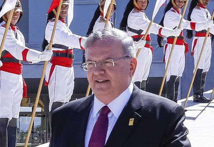 Amiridis se desempeñó como cónsul general de Grecia en Río entre 2001 y 2004. (AP/Presidencia de Brasil)