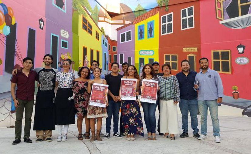 El colectivo de jóvenes Artem Relicta señaló que la tercera emisión del evento llevará por nombre 'Bej Nah'. (Jocelyn Díaz/SIPSE)