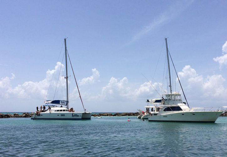 La falta de cobertura actual de la Capitanía, da margen para el pirataje en el servicio turístico náutico. (Foto: Adrián Barreto/SIPSE)