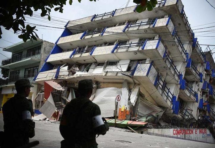 La Ciudad de México se hundió diez veces más que su promedio mensual. (Foto: El País)