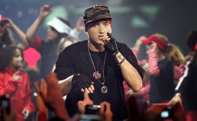 Eminem mostró su odio a Donald Trump en un festival estadounidense. (Especial/Milenio).