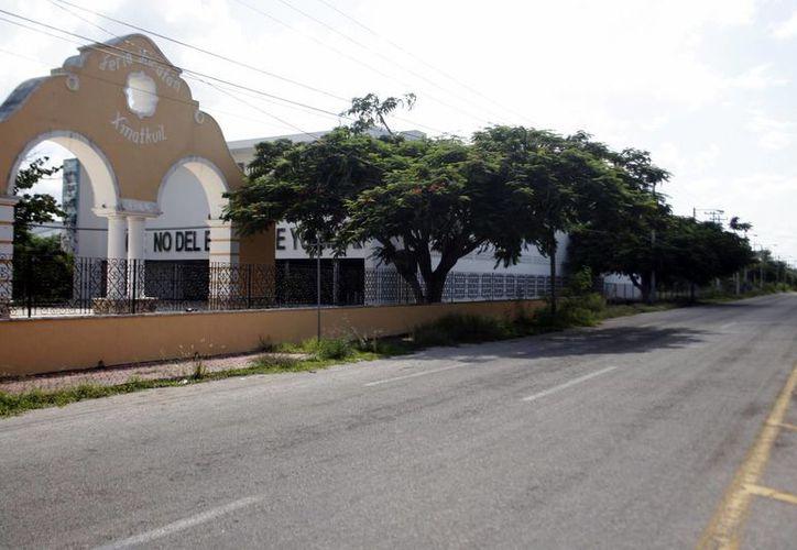 Las instalaciones de la feria albergarán a los festejos del Carnaval en Mérida. (Christian Ayala/SIPSE)