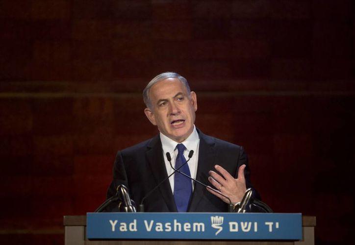 El primer ministro Benjamin Netanyahu asegura que Irán es una amenaza para la existencia del Estado judío. (AP)