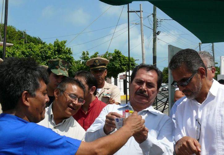 En el evento de la Conagua en Progreso se destacó la importancia de la prevención. (Cortesía)