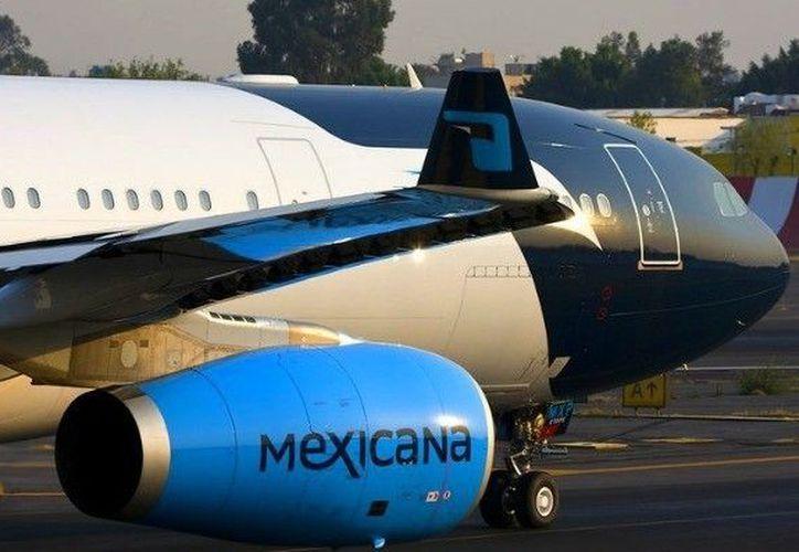 Mexicana requiere 300 millones de dólares para volver a levantar vuelo. (Foto: Internet)