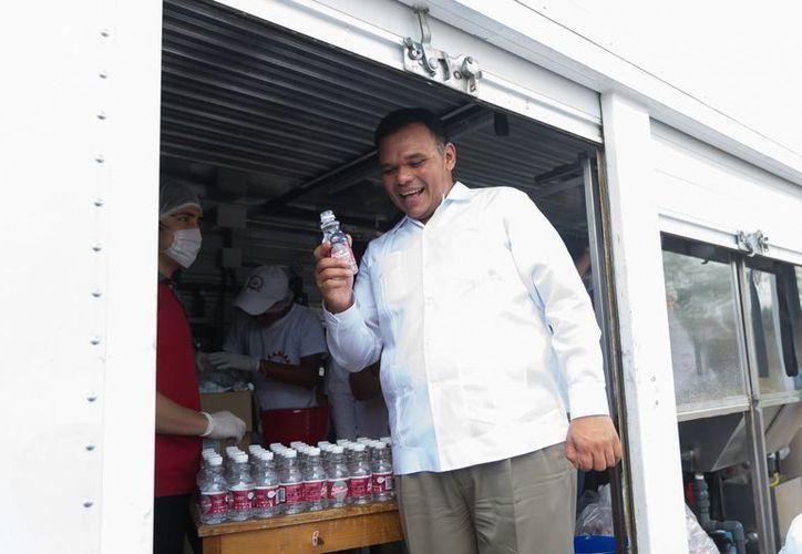 El Gobernador de Yucatán entregará semillas de maíz certificado de la variedad Sac-beh y Chichén Itzá a productores maiceros en Chankom. (Foto del Gobierno de Yucatán)