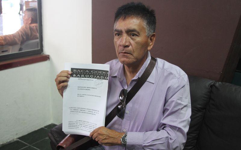 Violentan derechos de Mario Villanueva