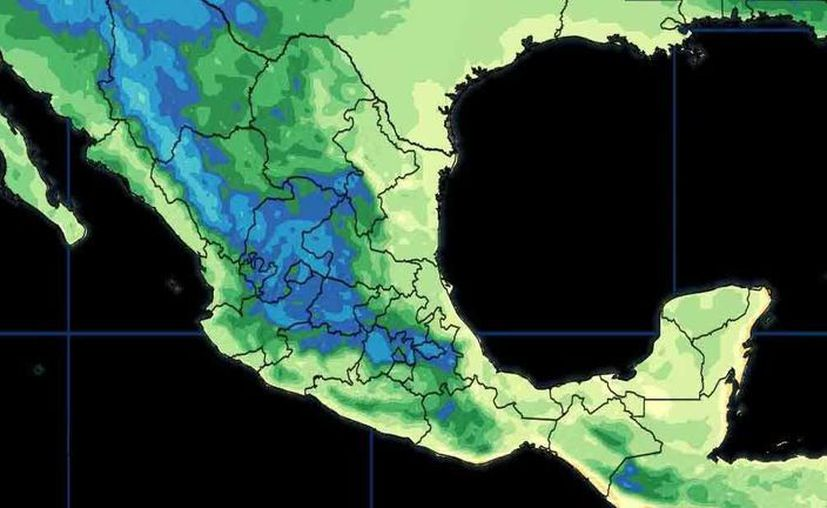 La probabilidad de lluvias es del 20% en Cancún. (Conagua)