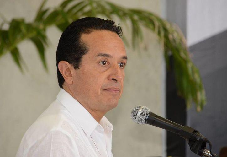Carlos Joaquín informó que tiene programadas otras demandas contra exfuncionarios. (Foto: Claudia Martín/ SIPSE)