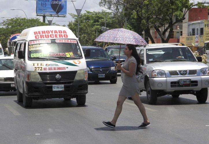 A pesar de que se esperan más lluvias y cielo nublado, las altas temperaturas continuarán. (Tomás Álvarez/SIPSE)