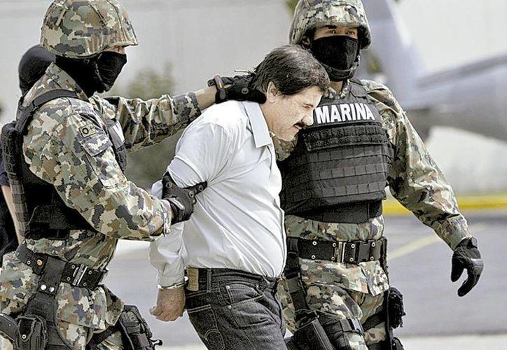 Llegada del narcotraficante Joaquín Archivaldo Guzmán Loera, <i>El Chapo</i>, a la Ciudad de México. (Milenio)