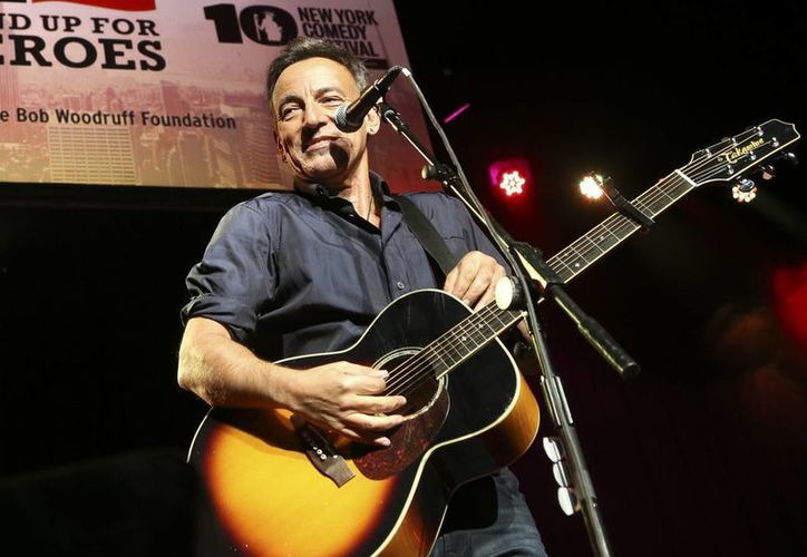 Bruce Springsteen será una de las estrellas que cantarán para los nuevos artistas que se integran al Salón de la Fama del Rock. (Agencias)