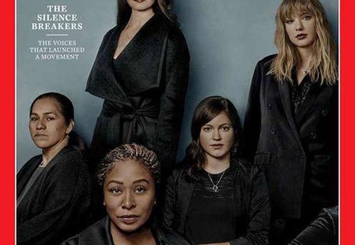 """La revista Time escogió como Persona del Año a las mujeres que """"rompen el silencio"""". (Foto: Time)"""