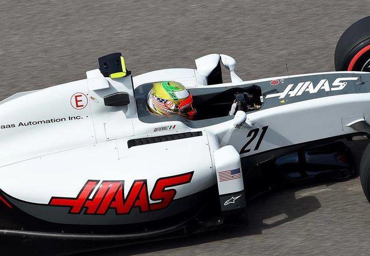 El mexicano Esteban Gutiérrez espera conseguir sus primeros puntos de la temporada el próximo fin de semana durante el Gran Premio de España. (Facebook)