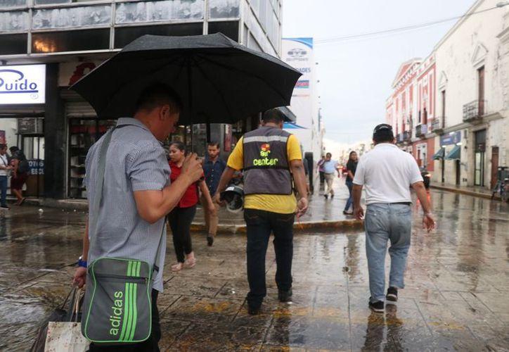 Este miércoles se pronostica chubascos fuertes en el sur, oriente y norte de Yucatán. (Daniel Sandoval)