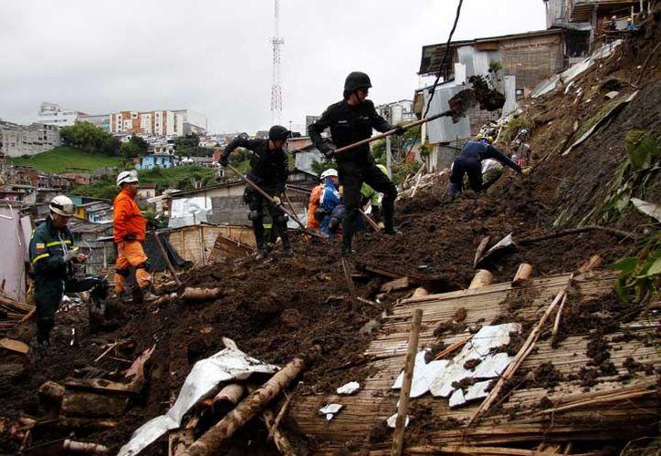 De los 32 departamentos que conforman el país, 28 han sido golpeados por la temporada invernal en Colombia. (Reuters).