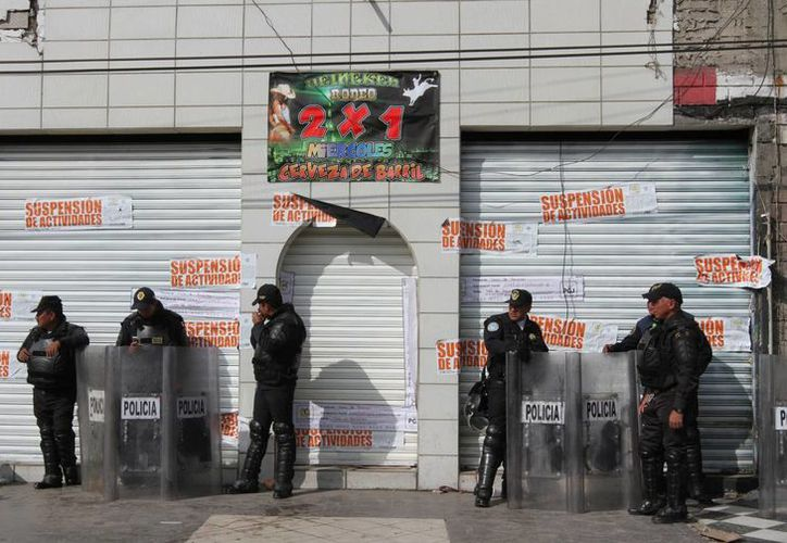 Tras los operativos policiacos en el Nuevo Tepito, algunos negocios fueron suspendidos o clausurados y otros remozados. (Notimex)