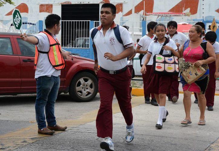 Los planteles con las que se trabajará a partir del siguiente ciclo escolar se encuentran en los fraccionamientos Villas del Mar. (Victoria González/SIPSE)
